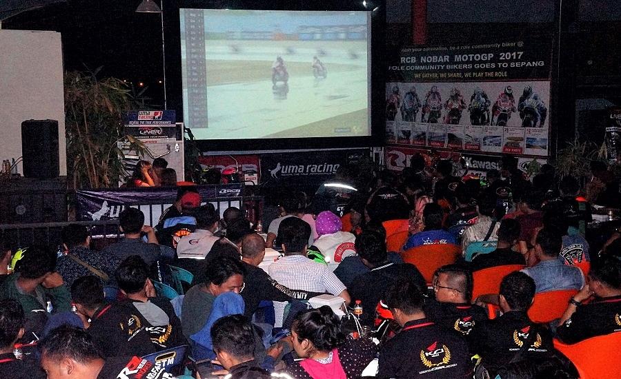 Horas! Komunitas Biker Medan Siap Adu Keberuntungan di RCB Nobar MotoGP