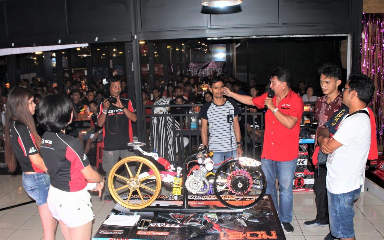 Bagai Pesta RCB Nobar MotoGP Ubah Bikers Manado Jadi