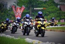 Yamaha Cup Race Pontianak 2018 : Wakil Klub YAWB Jadi Jawara Kelas Aerox 155