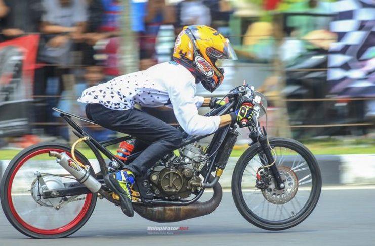 Hasil Gadhuro Drag Bike 201M Pati Selatan 2018