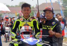 Ervantona, Juara Underbone Motoprix Purwokerto Seri 1 Siap Tampil Bersama Potter Pekajaman