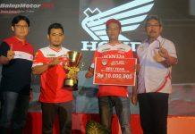 Simple Concept Jadi Tim Pembibitannya Honda, Terbaik di Kelas Belia!