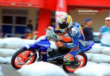 Duo 'T' Tumbang, Diaz Dengan Motor Barunya Sikat Kelas Underbone 125cc