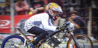 Bersama Vidal Speed Shop, Noka Kurcaci Rebut Gelar Juara Umum Drag Bike Babel 2018
