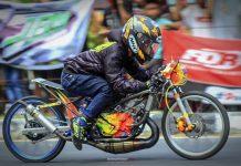 Rully PM dan Ninja HJS Petar Alifka Motor Pecahkan Rekor Time di Bangka Belitung