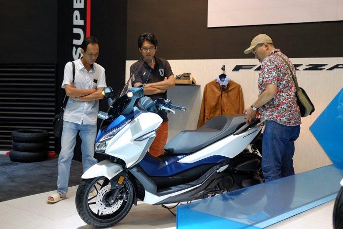 Honda Forza 250cc Dibandrol 76,5 Juta (OTR DKI)