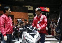 Presiden Joko Widodo Sempatkan Hadir di IMOS 2018