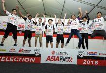 Herjun AF dan Abdul Gofar Pastikan Berlaga di Asia Talent Cup 2019