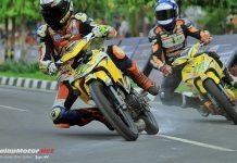 Road Race Kajen: Delly Rajai Kares Pekalongan dan Konsisten Podium Dengan Underbone Botuna