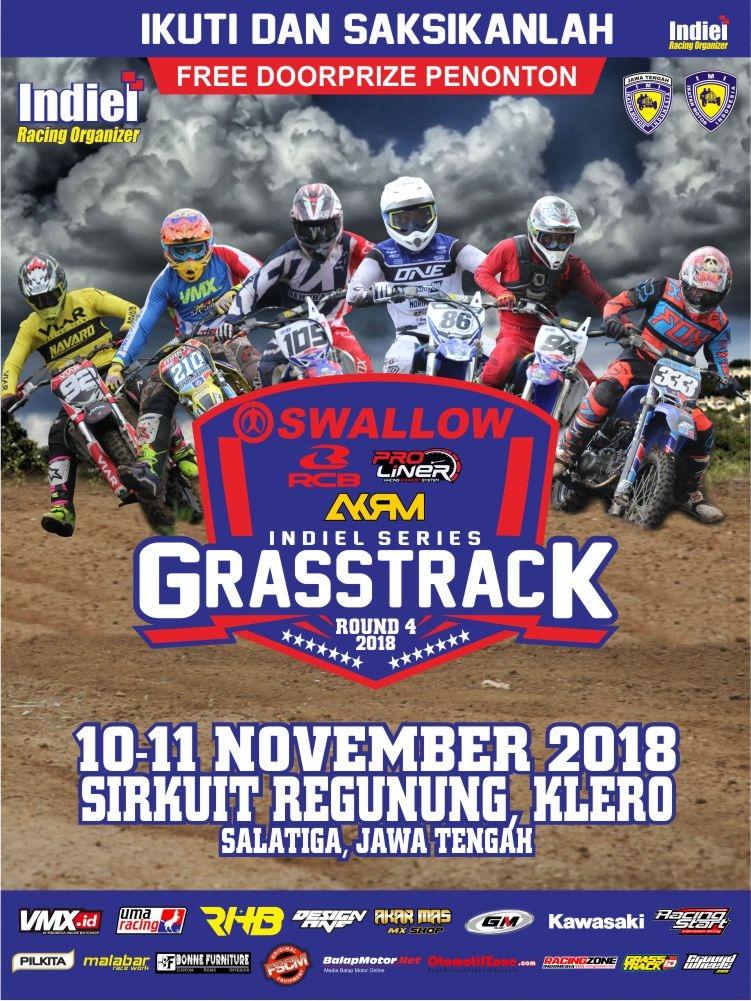 Agenda Balap: Grasstrack Indiel Series Putaran 4 Salatiga, 10-11 November 2018