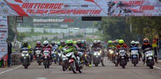 Matic Race Trijaya Sumber Production: Wadahi Pecinta Cornerrace Diserbu 300 Starter Plus 4 Juara Umum