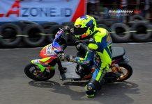 Bima Aditya Feat Kennard Speed Dominasi Kelas Matic Kejurda Muara Enim Sumsel