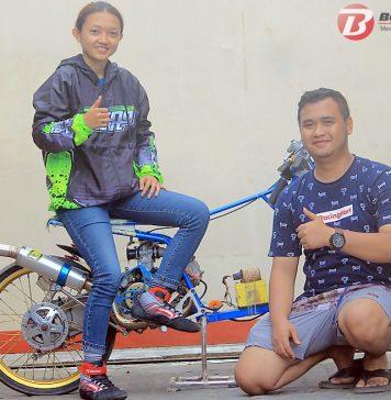 Lagi! Dengan Matic Racing Start Metamorphosis Daffa Della Taklukan Laki-Laki