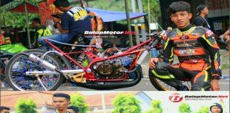Jelang Final Gadhuro Drag Bike 2018: Hendra Kecil vs Rully PM Perang FFA, Poin Imbang!