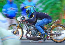Dragbike Pringsewu 2018: Diserbu 405 Starter, Erwin Embot Gedang Sabet Juara Umum
