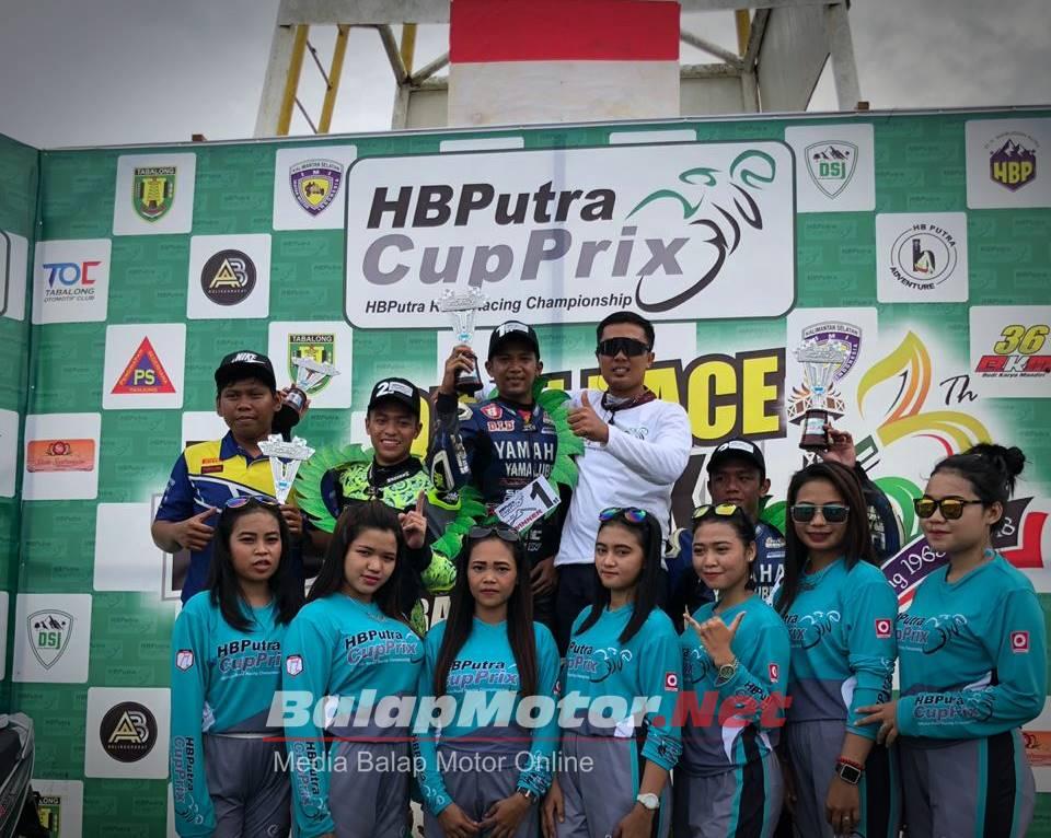 HB Putra Cup Prix 2018 Jadi Gelaran Spesial di Kalimantan, Tahun Depan Digelar 3 Seri di 3 Provinsi
