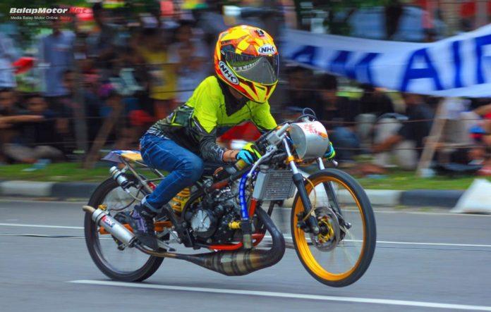 Hasil Drag Bike Pangkal Pinang 16 Desember 2018