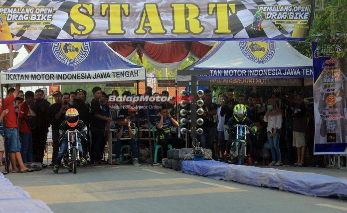 Hasil Drag Bike Pemalang 2 Desember 2018