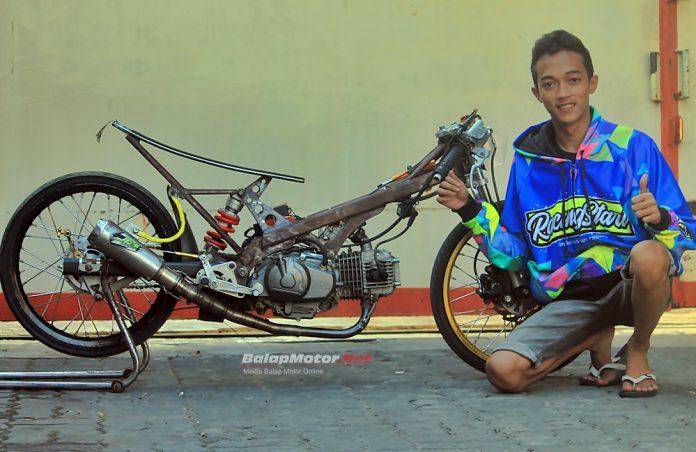 Rangka Baru Jupie Faster Chiki SND PM, Ilham Unyil Jawara 7,9 Detik!