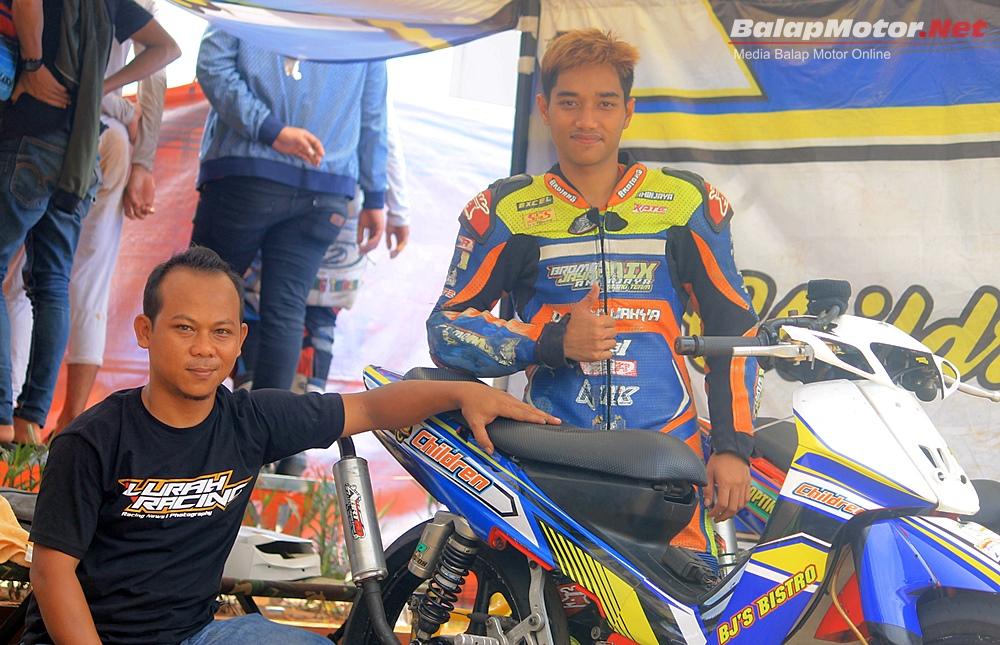 Duel Idris SM & Sulung Giwa, F1ZR BJ'S Bistro Children Jawara Underbone 116cc