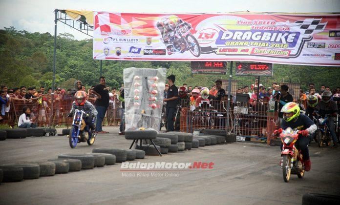Hasil LSI Drag Bike Mijen Semarang 16 Desember 2018