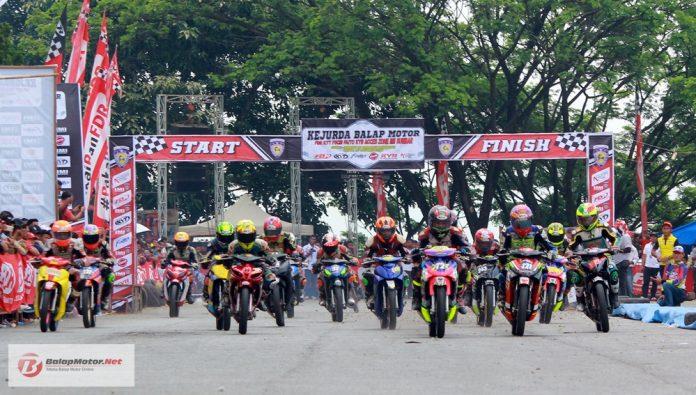 Agenda Balap: Grand Final Kejurda Balap Motor Sumatera Barat 9 Desember 2018