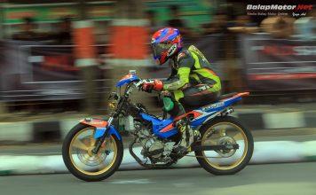 Jelang Poetra Jaya Road Race Blora 2018: Ryan TS di Atas Angin Gondol Sepeda Motor!