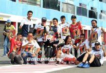 Eric Saputra Lengkapi Gelar Dengan Raih Juara Umum Superstock 600cc di IRS 2018