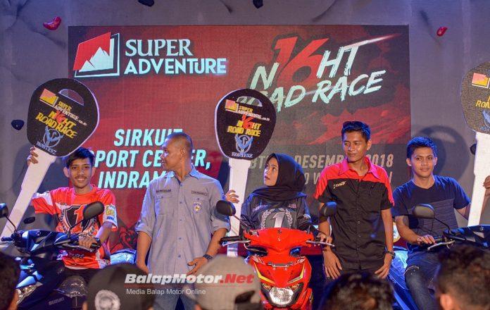 Super Adventure Night Road Race 2018: Super Meriah Hadiahkan 3 Unit Sepeda Motor!