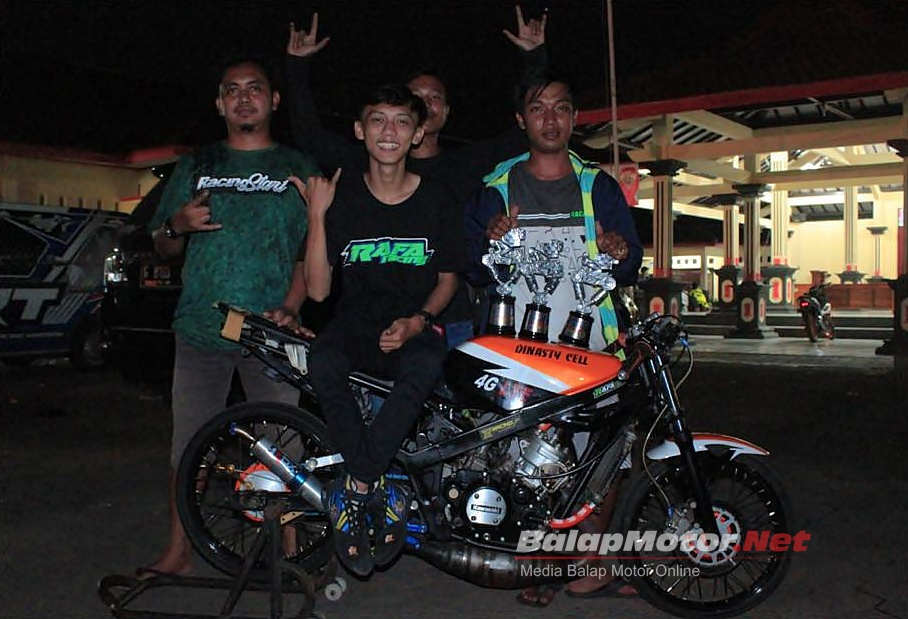 Ninja Dinasty Raffa Racing, Rasio Standar Specialis Breket 8 Detik!