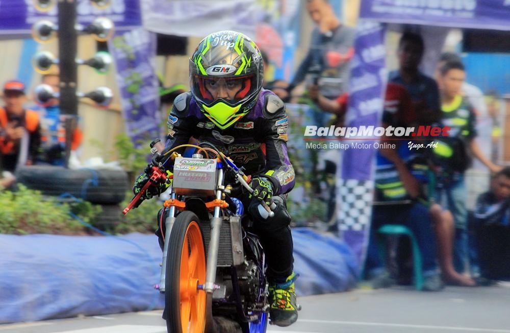 Drag Bike Purbalingga 2019: Duo Ninja Ibra HKRT Terbaik di Kelasnya, Best Time!