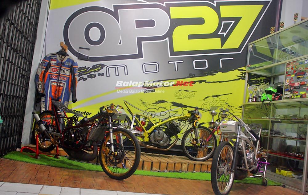 Final Mizzle Drag Bike Purbalingga: Awas, OP27 Tampil Full Tim!