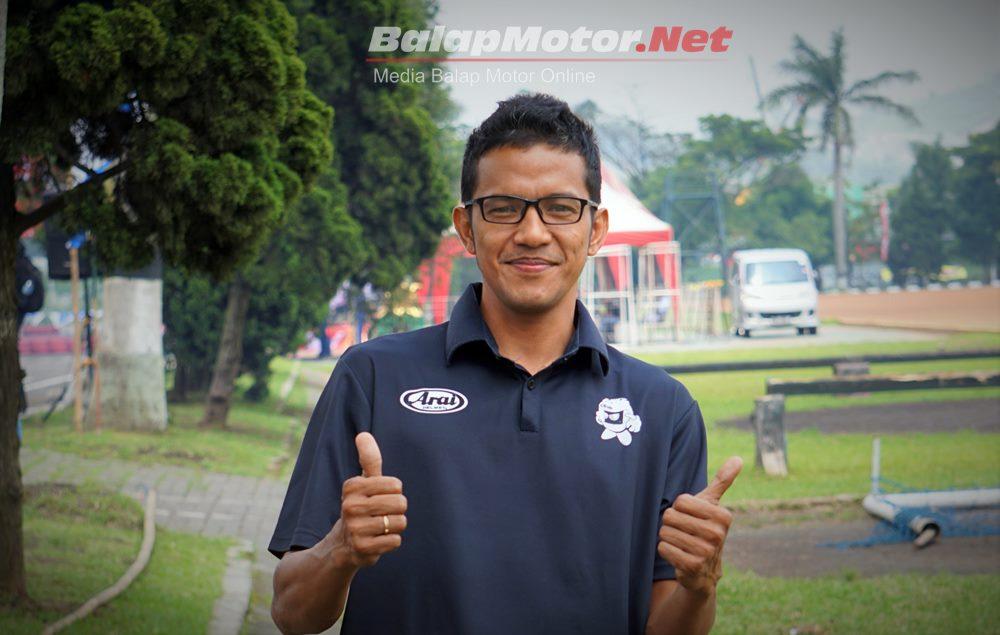 Lima Tahunan Tak Balap di Trek Dadakan, Rey Ratukore Bernostalgia di Gebyar RTP Cup 2019