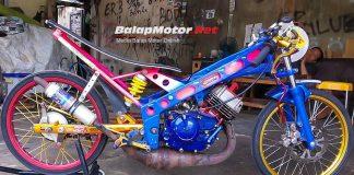 AGP Dragbike Linggau: Yamaha Touch Milik Ayam Balap Palembang Sikat podium 1 & 2