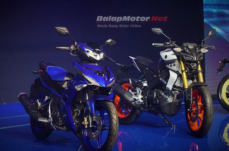 Rossi & Vinales Serta Skuad YRI Kenalkan Dua Produk Baru Yamaha