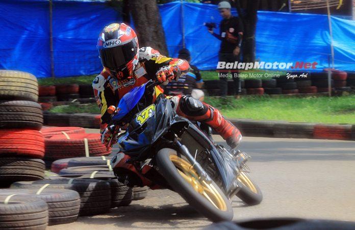 K-28 Road Race Purwakarta 2019: Trek Basah, Riki Ibrahim Sikat Senior di MP1