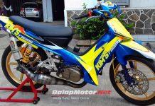 Underbone F1ZR Kims Racing Tegal, Perdana Main Langsung Buru Podium Indoclub