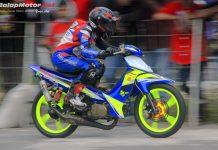 Jelang Road Race Kebumen 2019: Underbone F1ZR Optik Bipola Digeber Sakti Andre!