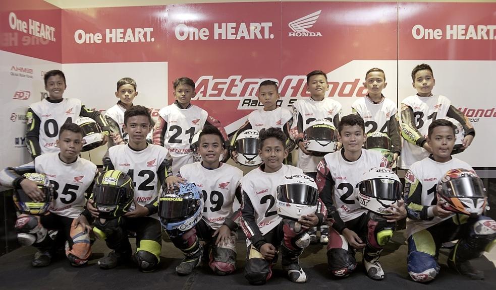 Nih Daftar 15 Pebalap Belia yang Lolos Seleksi Astra Honda Racing School