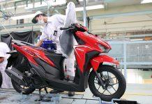 Honda Vario Tampil Dengan Warna & Stripe Baru