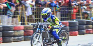 Ninja TU IUS Kembali Mulus, Tembus 6.874 Detik Kejurda Drag Bike Jabar!
