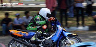 Pacu Bebek Goreng Tim UJRT, Reza Fahlevi Tak Terlawan di Balap Motor Pemerintah Aceh 2019