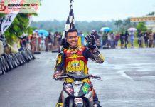 Road Race Pringsewu 2019: Kalah Dramatis di MP1, Rizaludin Sidqi Menang Mutlak di MP2