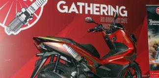 Gandeng Rey Decals, All New Honda PCX NGK Busi Indonesia Tampil Istimewa