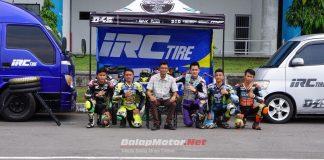 Kembali Disupport Ban IRC, D45 Road Racing Academy Mengaku Sangat Terbantu