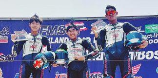 Thailand Talent Cup (Race 2): Dheyo Wahyu Mendominasi, Kibarkan Merah Putih di Podium Tertinggi!
